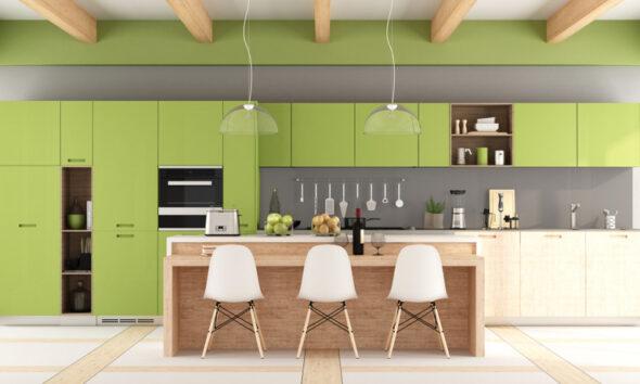 going green kitchen
